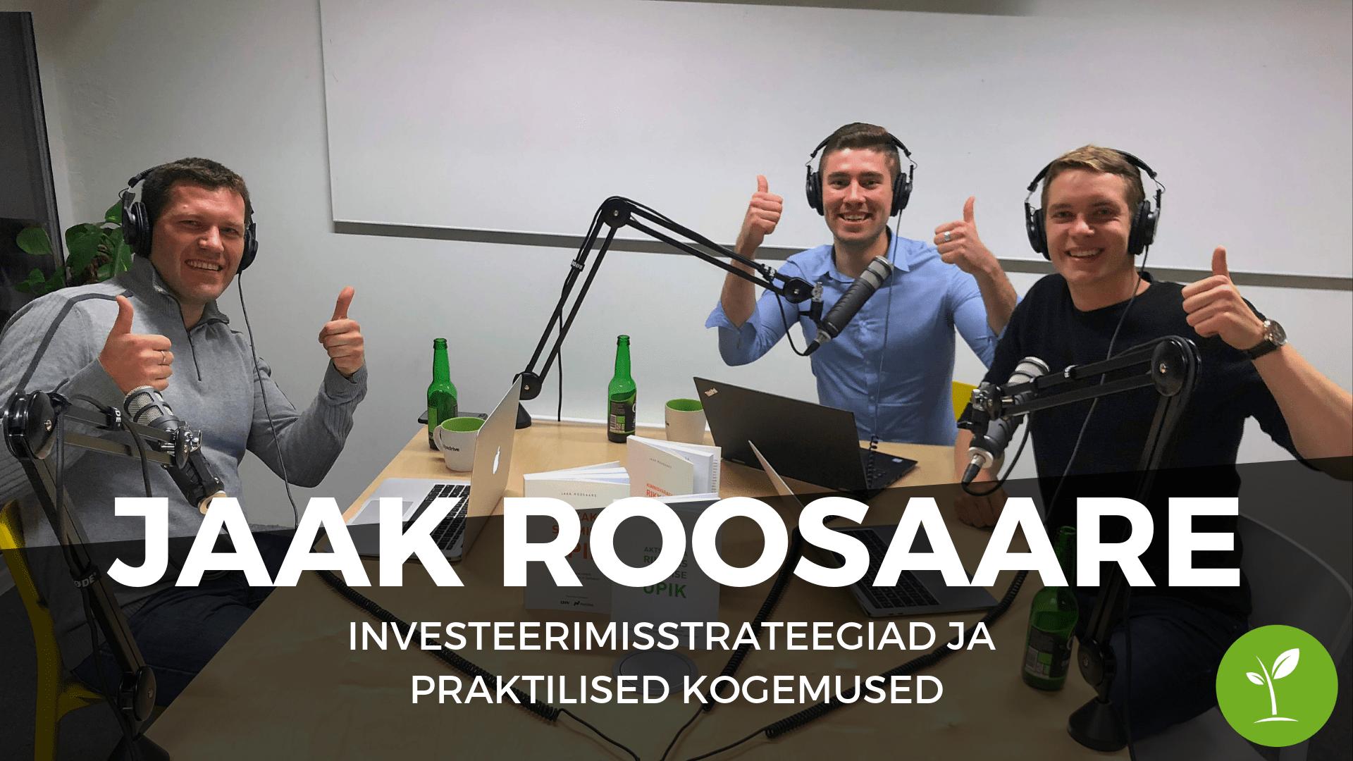 Jaak Roosaare Investeerimisstrateegiad