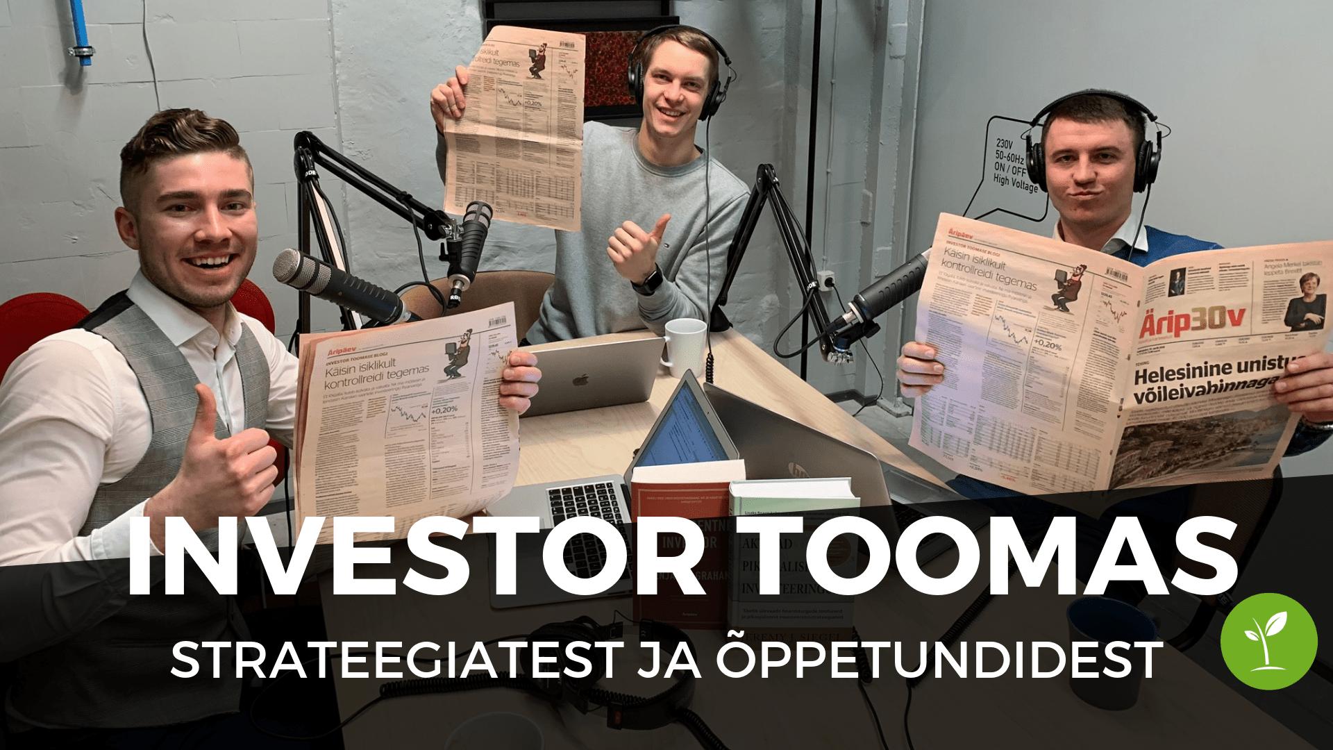 Investor Toomas
