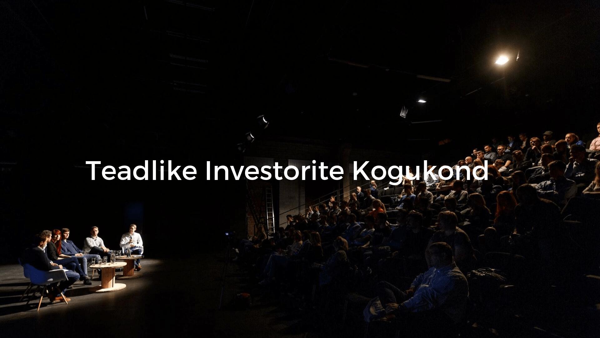Teadlike investorite kogukond